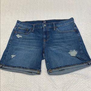 Gap distress women's denim shorts SZ 29
